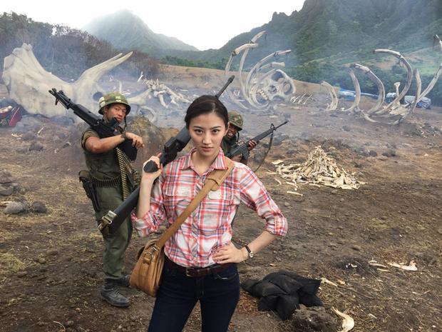 """""""Cài cắm"""" diễn viên châu Á, cảnh sắc châu Á khiến Kong rất được lòng khán giả nơi đây, đặc biệt là tại Trung Quốc và Việt Nam."""