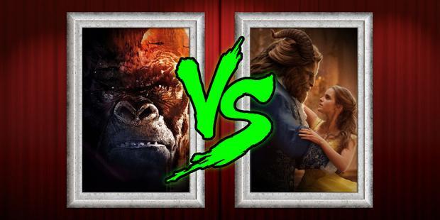 Doanh thu mở màn của Kong: Skull Island chỉ bằng 1/3 Beauty and the Beast.
