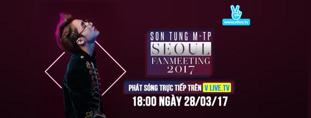 Giờ G sắp đến, Sơn Tùng M-TP đổ mồ hôi tập luyện cho Seoul Fan meeting