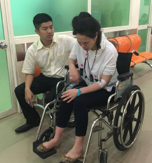 Cô được các bác sĩ chuẩn đoán bị viêm amidan mãn tính, dẫn đến sốt cao và bị co giật.