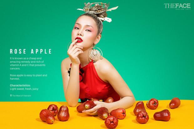 Cận cảnh bộ ảnh 9 mỹ nhân The Face Online 2017 với thử thách cuối cùng  Quảng bá trái cây 3 miền Việt Nam