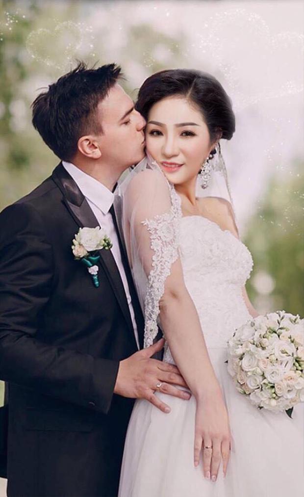 Ảnh cưới của danh hài Thúy Nga.