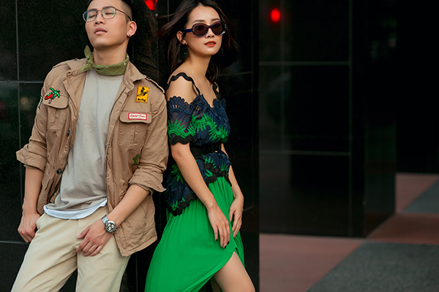 Bộ ảnh mới của cả hai được thực hiện bởi nhiếp ảnh: Chanh Nguyễn, stylist: Trần Hoài Trang, Lê Minh Ngọc, Make-up: Tâm Hồng,
