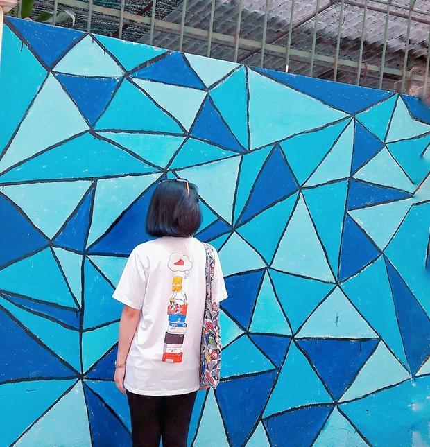 Sinh viên trường cũng đã bắt đầu khoe tấm hình check in đầu tiên (Nguồn : FB Minh Trang Nguyen)