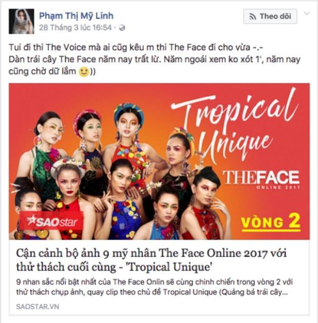 Các thành viên đến từ team Thu Minh tại The Voice như Mỹ Linh, Dương Thuận cũng háo hức với The Face năm nay.