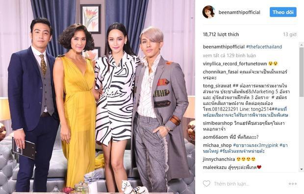 Hình ảnh trên Instagram của HLV Bee Namthip