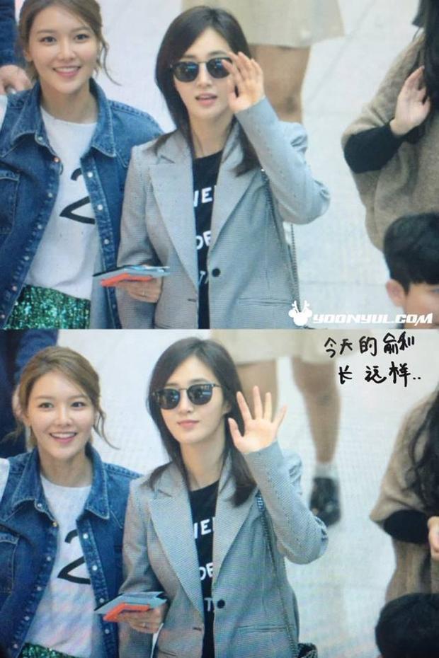 Sooyoung và Yuri khá thân thiết với nhau.
