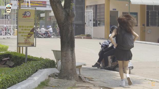 Cô gái váy đen là ai và có mối quan hệ như thế nào với Minh Tú?