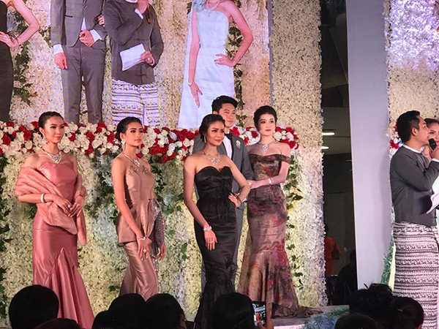 Á hậu Huyền My khoe sắc xinh đẹp giữa dàn mỹ nhân Myanmar