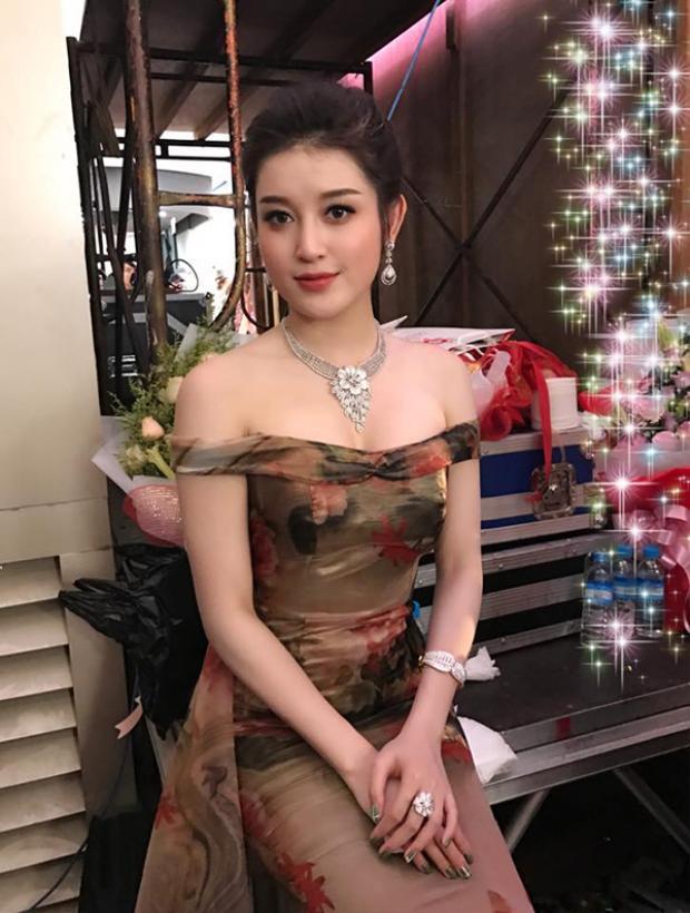 Nhan sắc xinh đẹp của Á hậu Huyền My.