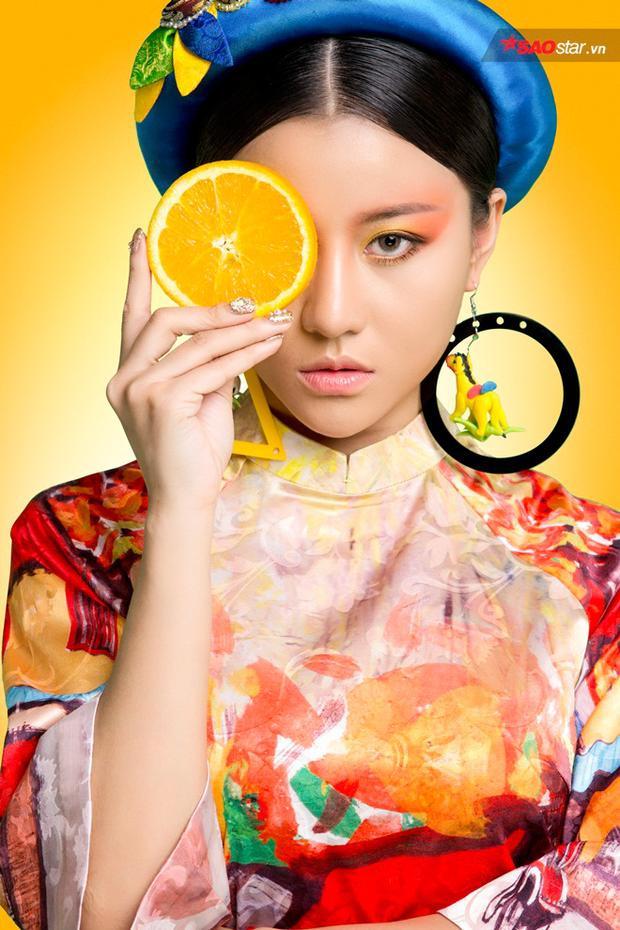 Học trò Đông Nhi hút hồn với bộ ảnh mang phong cách The Face Online
