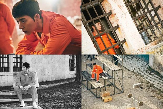Một số hình ảnh của Park Hae Jin được nhà sản xuất hé lộ.
