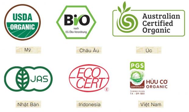 Để được dán nhãn Organic, các loại thực phẩm phải trải qua nhiều quy trình kiểm tra phức tạp.