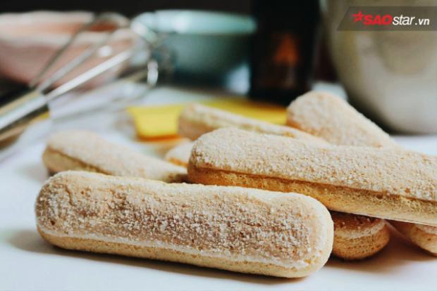 Bánh champagne, hay còn gọi là bánh ladyfinger, nguyên liệu không thể thiếu trong những chiếc Tiramisu
