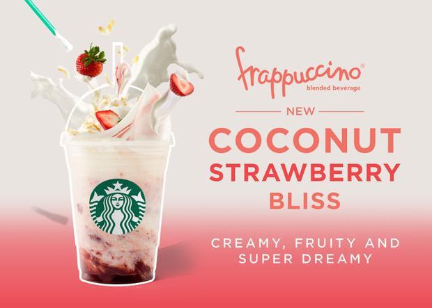 Starbucks ra mắt loại nước độc đáo 7 sắc cầu vồng phiên bản giới hạn
