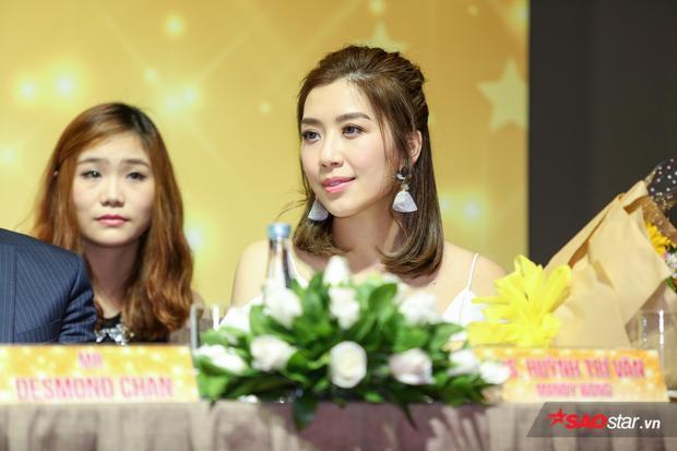 Bộ ba diễn viên Trần Khải Lâm, Huỳnh Hạo Nhiên và Huỳnh Trí Văn tại buổi họp báo.