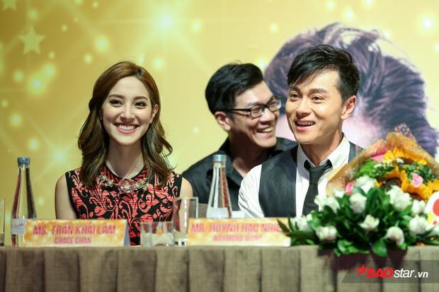 Sao TVB Huỳnh Hạo Nhiên  Trần Khải Lâm tiết lộ 'yêu nhau như thật' trên phim trường