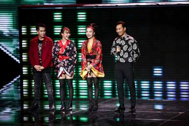 Hương Giang trở lại chính thức so găng cùng Bảo Thy, S.T và Yến Trang tại Chung kết xếp hạng