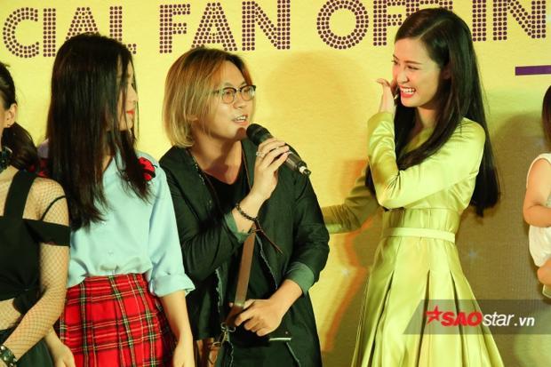 Bên cạnh đó, học trò Nguyễn Thanh cũng bất ngờ góp mặt chung vui.