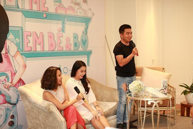 MC Thùy Minh và nhà văn Nguyễn Ngọc Thạch cũng có mặt.