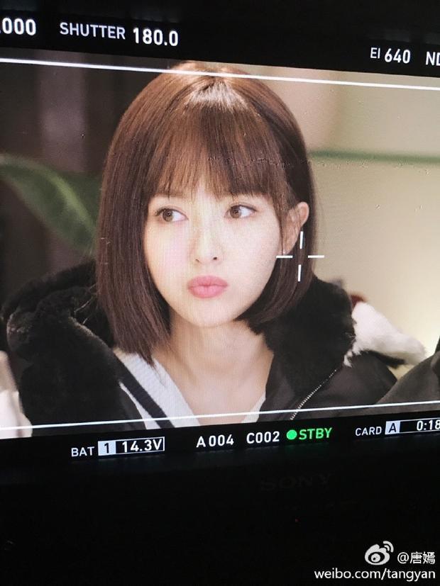 Tóc ngắn trẻ trung, Đường Yên khiến fan chết mê trong tạo hình phim mới