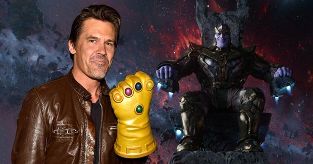 Josh Brolin là người thể hiện vai Thanos.