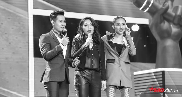 Hiền Hồ  Hải Anh hát hit Diva, HLV Thu Minh khiến Tóc Tiên bật khóc với nút Cứu quyền lực
