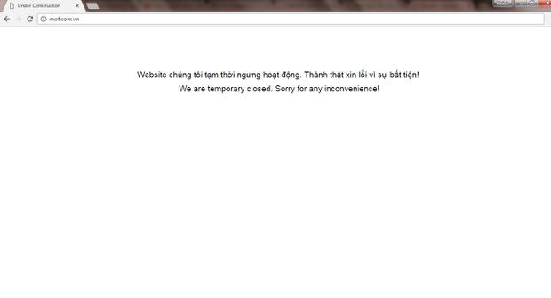 Hiện tại website đã đóng cửa.