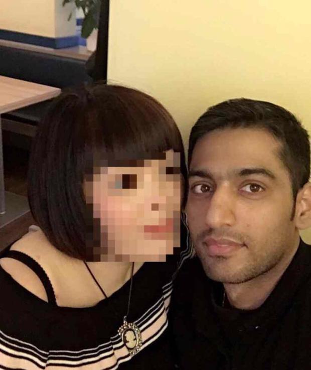 Ảnh chụp tại nhà hàng của nạn nhân.