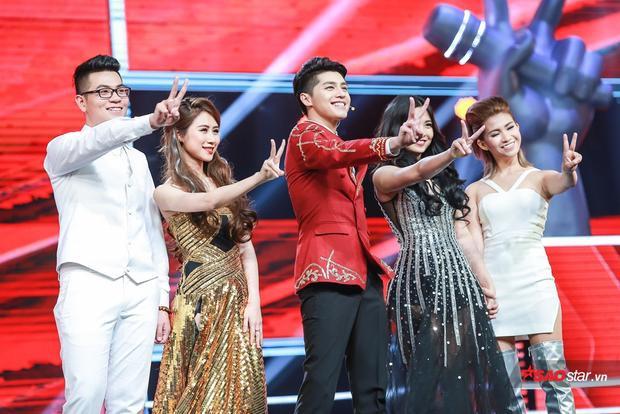 Team Noo Phước Thịnh: Anh Đạt, Thu Hà, Hiền Mai, Thanh Nga.