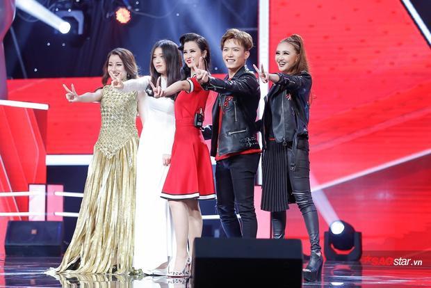 Team Đông Nhi: Giáng My, Anh Tú, Han Sara, Huyền Dung.