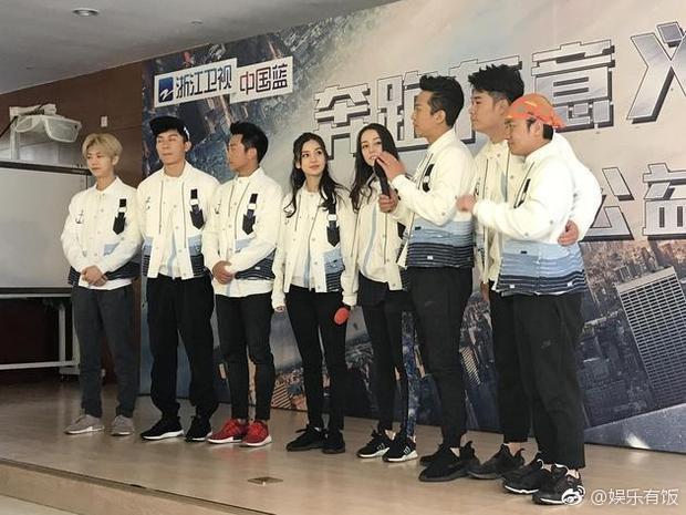 Angelababy, Lộc Hàm nổi bật tại hoạt động công ích cùng dàn cast Keep Running