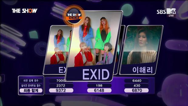 EXID vừa có chiến thắng đầu tay.