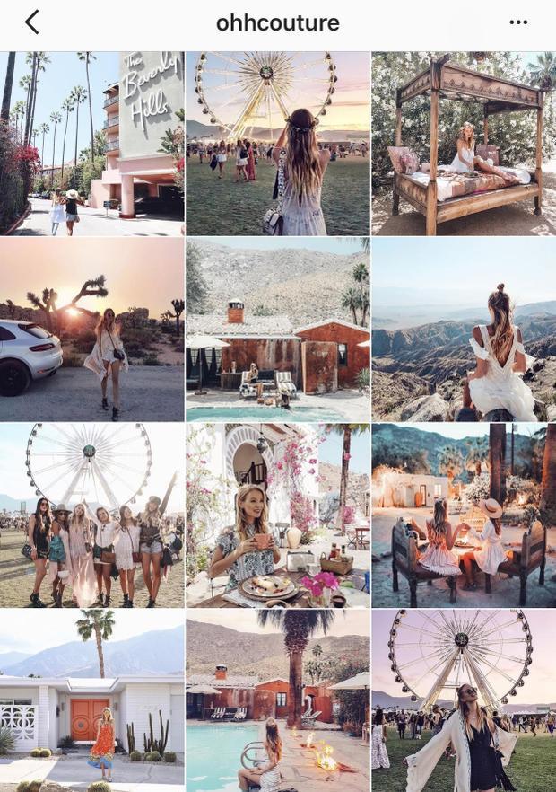 Tài khoản instagram thu hút hơn triệu người theo dõi này là của Leonie Hanne - một blogger người Đức.