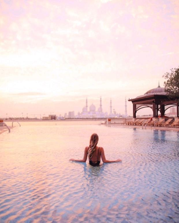 Abu Dhabi.