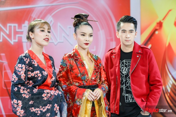 Yến Trang trong tạo hình Geisha ấn tượng tại đêm Chung kết 1.