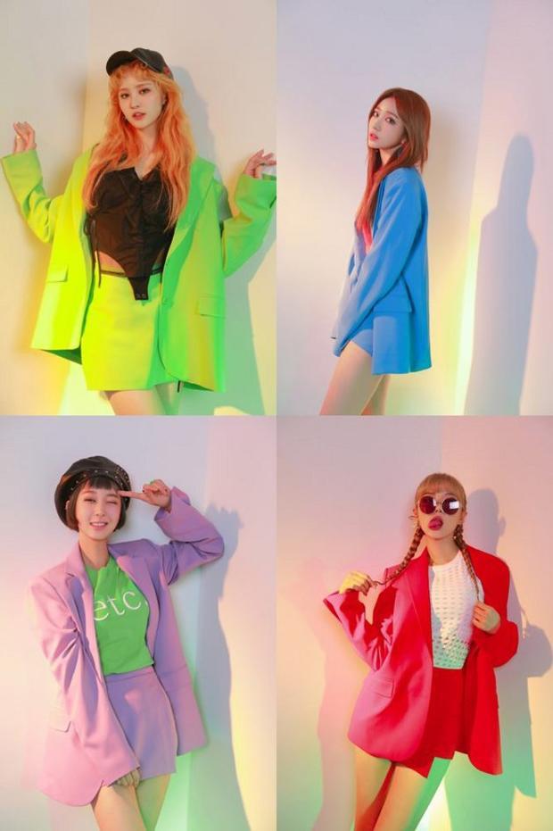Đây là lần đầu tiên các cô gái hoạt động quảng bá với 4 thành viên.