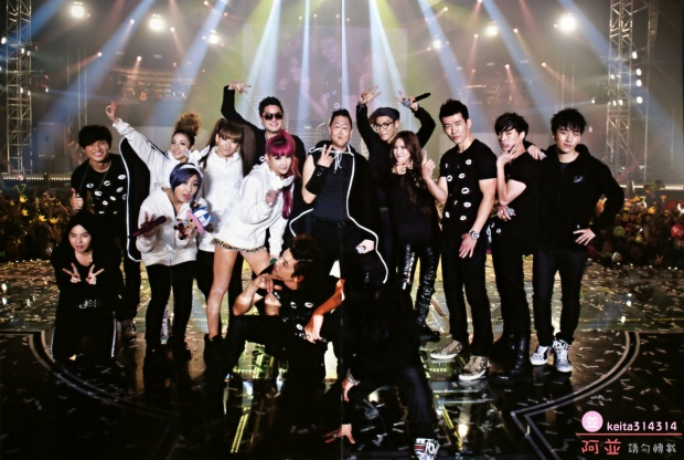 Luôn có những vị khách mời thường xuyên đến tham dự các buổi concert của G-Dragon.