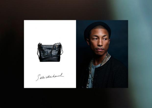 Chiếc túi đồng hành cùng Pharrell trong suốt đoạn phim chính là thiết kế trong BST mới của Chanel.