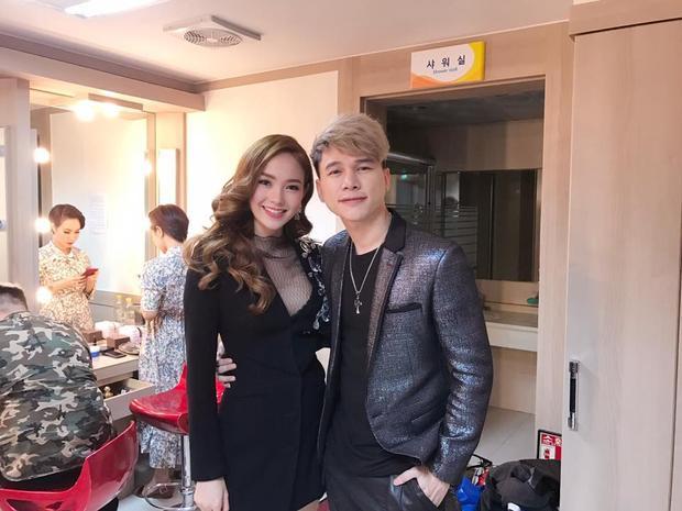 Minh Hằng và Hoàng Tôn.