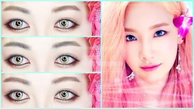 Sử dung hai màu mắt: hồng đào - nâu trầm và mix với nhau, đánh xung quanh viền mắt. Đừng quên thoa son dưỡng để tạo độ bóng cho môi nhé các cô gái.
