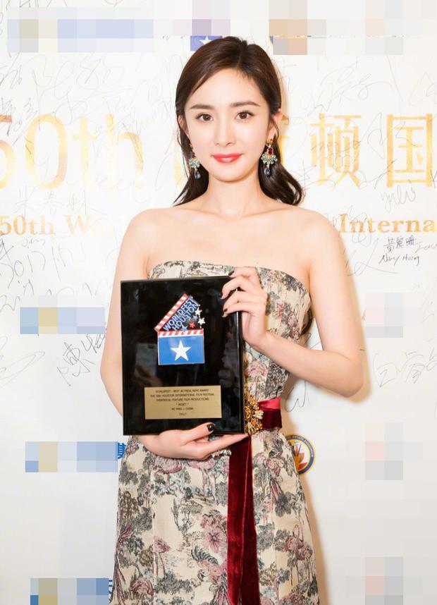 Dương Mịch và giải thưởng danh giá tại LHP quốc tế Houston.