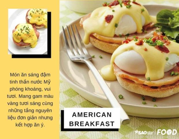 Egg Benedict  Bữa sáng toả nắng cho kì nghỉ lễ