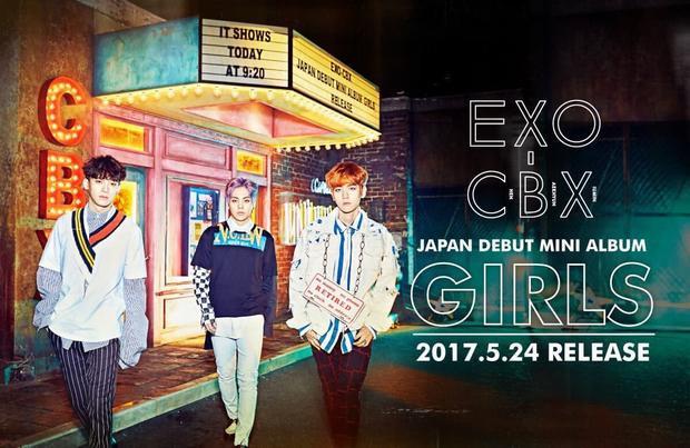 Cùng chờ đợi màn debut tại Nhật của EXO-CBX.