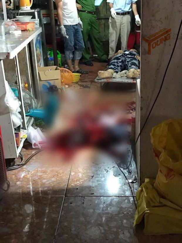 Hiện trường vụ án đặcbiệt nghiêm trọng xảy ra tại huyện Long Thành, tỉnh Đồng Nai.