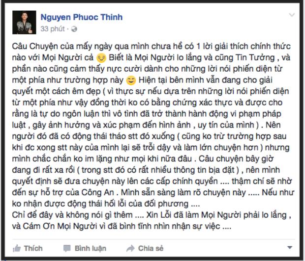 Noo Phước Thịnh chính thức lên tiếng về nghi án hủy show, xúc phạm Đông Nhi