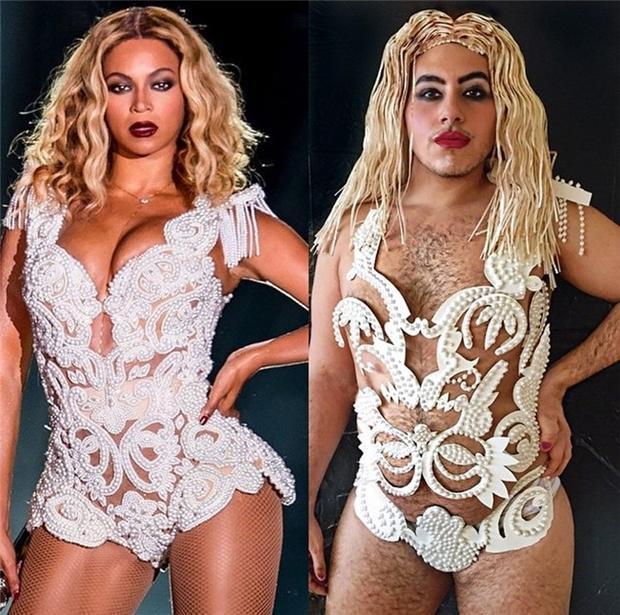 """Mà Beyoncé trong hình mẫu gì thì anh chàng cũng đảm bảo """"chơi tới bến"""" được."""