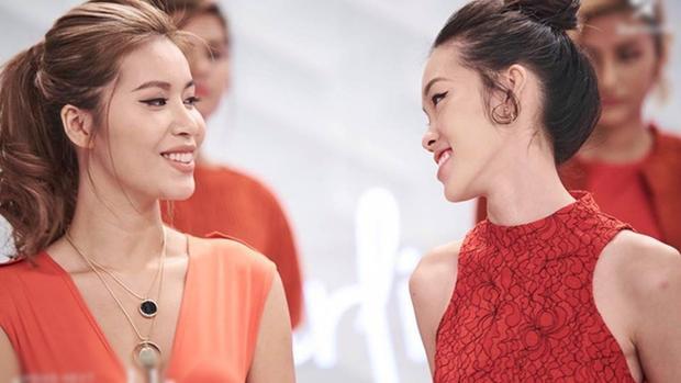 Minh Tú và Layla luôn có nhau trong các thử thách tại chương trình.