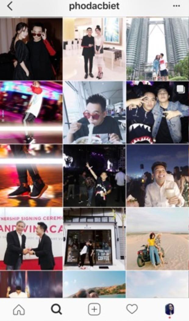 Tuy nhiên, trên Instagram của Phở Đặc Biệt vẫn còn lưu những hình ảnh hạnh phúc cùng bạn gái.