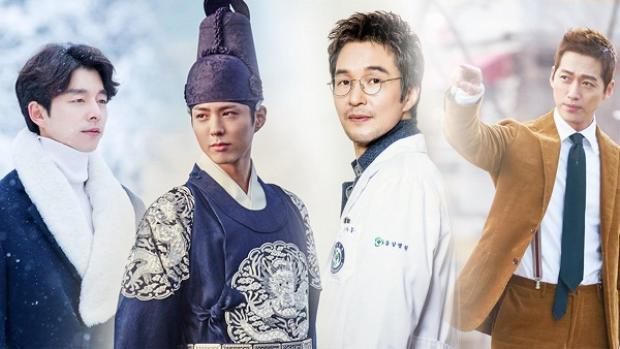 Những gương mặt đáng chú ý trong bảng đề cử Nam diễn viên xuất sắc nhất Baeksang Art Awards lần thứ 53.